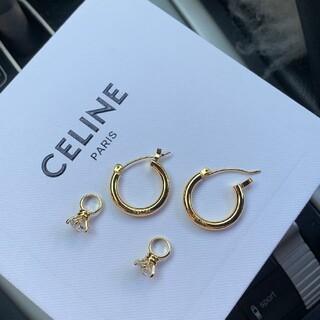 celine - 【CELINE】ピアス-105423
