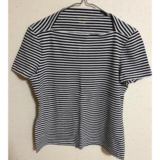 ケイトスペードニューヨーク(kate spade new york)のケイトスペード katespade ボーダートップス(Tシャツ(半袖/袖なし))