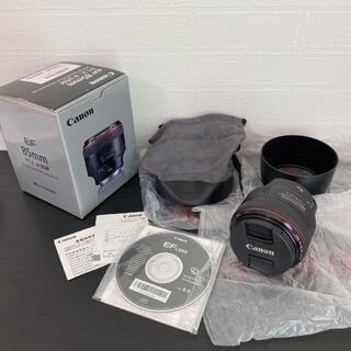 Canon - 展示保証付き☆Canon 単焦点レンズ EF85mm F1.2L II USM