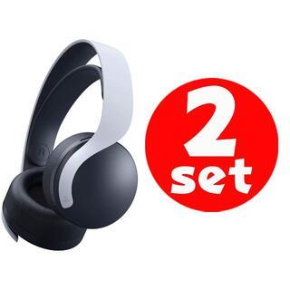 プレイステーション(PlayStation)の2セット●新品未開封●送料無料●純正品 PULSE 3D ワイヤレスヘッドセット(その他)