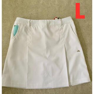 Kappa - 新品札付き kappaカッパ ゴルフウエア ストレッチプリーツスカート Lサイズ