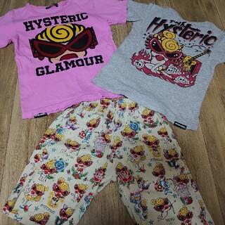 HYSTERIC MINI - ヒスミニ Tシャツ タトゥー スカル パンツ ステテコ チャビーギャング
