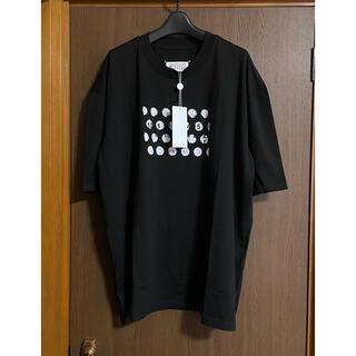 Maison Martin Margiela - 黒48新品 メゾン マルジェラ パンチホール オーバーサイズ Tシャツ  メンズ