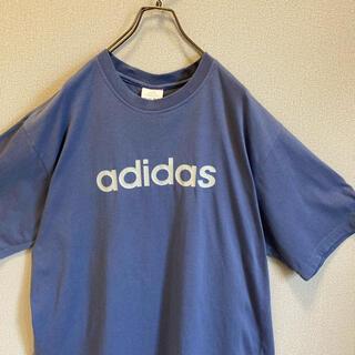 アディダス(adidas)の90s adidas tシャツ 2XL プリント ロゴ ゆるだぼ(Tシャツ(半袖/袖なし))