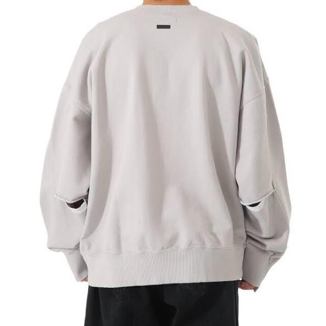 1LDK SELECT(ワンエルディーケーセレクト)のstein シュタインDIVIDE SLEEVE V NECK SWEAT LS メンズのトップス(スウェット)の商品写真