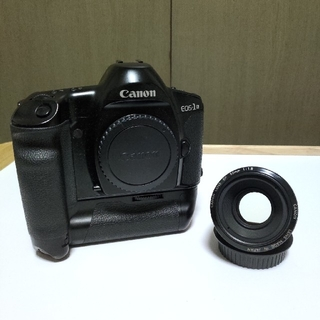 Canon - Canon キャノン EOS-1N 単焦点レンズ 50mm 1:1.8