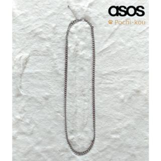 エイソス(asos)のセール中♪ 日本未入荷♪ ASOS シルバー チェーン ネックレス(ネックレス)