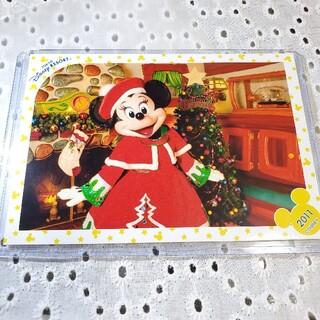 ディズニー(Disney)のディズニースペシャルフォト スペフォ 2011 クリスマス ミニー(キャラクターグッズ)