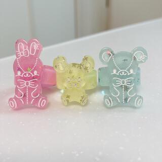 アンジェリックプリティー(Angelic Pretty)のAngelic Pretty Jelly Candy Toys リング セット(リング(指輪))