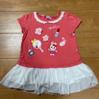 mikihouse - ミキハウス☆チュニック Tシャツ110