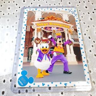 ディズニー(Disney)のディズニースペシャルフォト スペフォ 2010 ハロウィン ドナルド グーフィー(キャラクターグッズ)