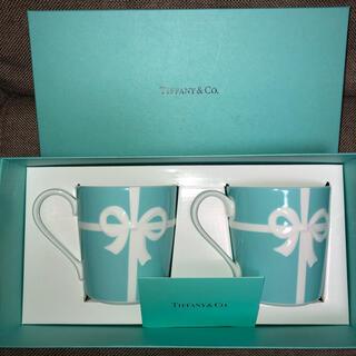 Tiffany & Co. - ティファニーマグカップ ペア  TIFFANY&Co. リボン