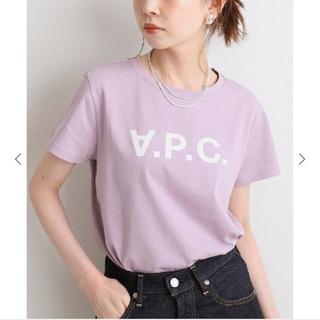 IENA - IENA【A.P.C./アーペーセー】VPCTシャツパープルB