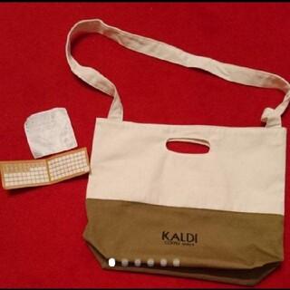 KALDI - カルディトートバッグ+ポイントカード付き
