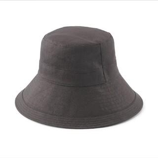 MUJI (無印良品) - UVカット フレンチリネン クロッシェ 帽子