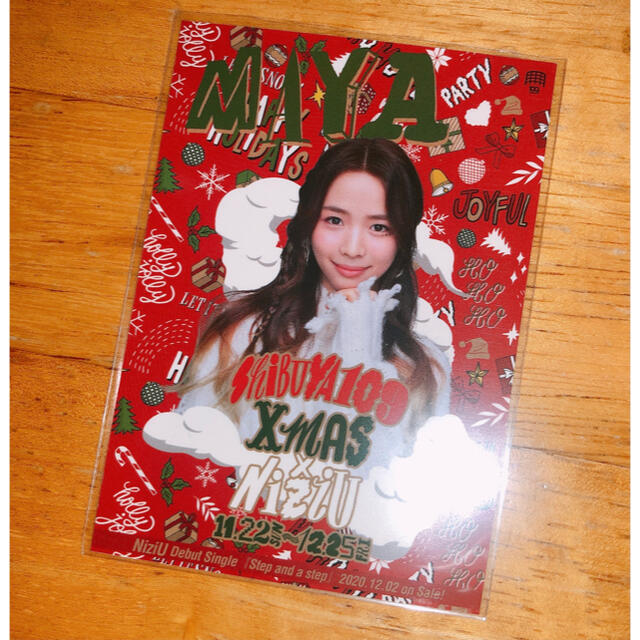 NiziU 109 クリスマス ステッカー エンタメ/ホビーのタレントグッズ(アイドルグッズ)の商品写真
