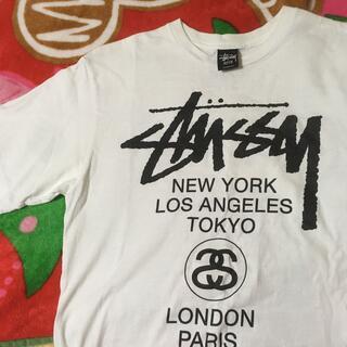 STUSSY - stussy ワールドTシャツ ステューシー
