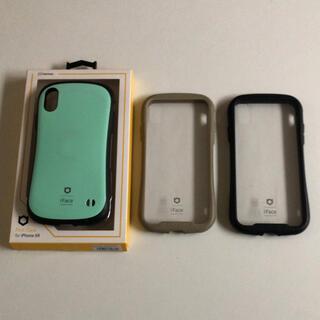 iPhone - 【お買得】iPhoneXR iFace ケース 3個セット クリア アイフェイス
