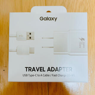 ギャラクシー(Galaxy)のGalaxy TRABEL ADAPTER 15W(バッテリー/充電器)