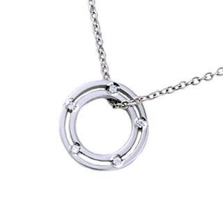 Damiani - ダミアーニ 参考定価 ¥259,000 Dサイド ダイヤ サークル ネックレス