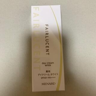 メナード(MENARD)のメナード フェアルーセント 薬用デイクリーム ホワイトD(日焼け止め/サンオイル)