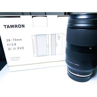 タムロン(TAMRON)の【美品】TAMRON 28-75mm F/2.8 Di Ⅲ RDX(レンズ(ズーム))
