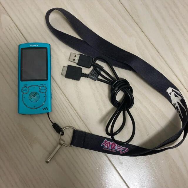 SONY(ソニー)の初音ミク ウォークマン スマホ/家電/カメラのオーディオ機器(ポータブルプレーヤー)の商品写真
