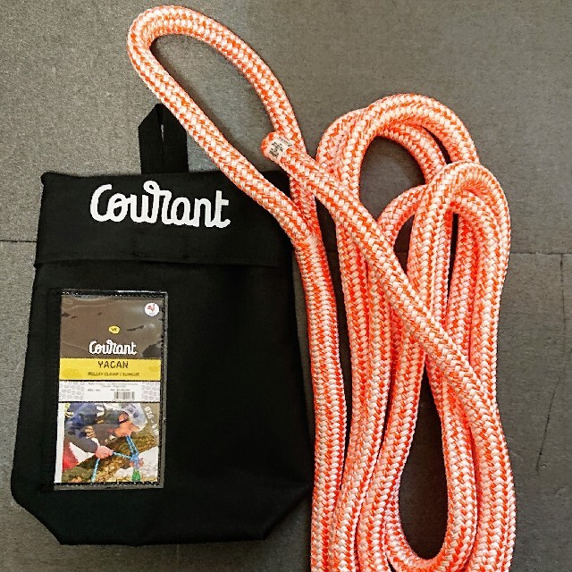 Courant Yagan デッドアイスリング16mm4m アーボリスト 特伐 スポーツ/アウトドアのアウトドア(登山用品)の商品写真