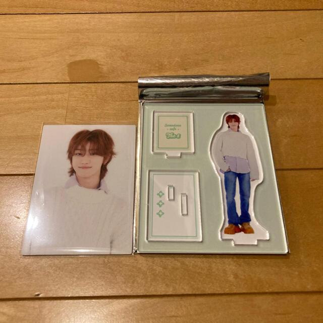 SEVENTEEN(セブンティーン)のミンハオ アクスタ トレカ エンタメ/ホビーのCD(K-POP/アジア)の商品写真