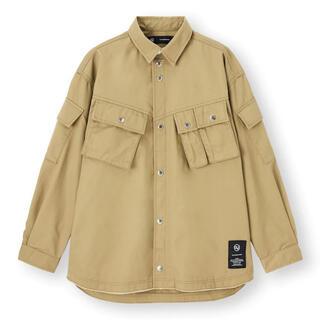 UNDERCOVER - S新品 GU UNDERCOVER ミリタリージャケット シャツ アンダーカバー