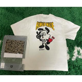 アベイシングエイプ(A BATHING APE)のhuman made verdy ガールズドントクライ Tシャツ(Tシャツ/カットソー(半袖/袖なし))