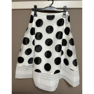 チェスティ(Chesty)のchesty ドットスカート 1サイズ(ひざ丈スカート)