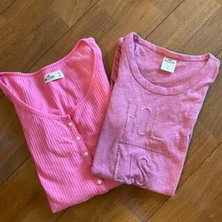 ホリスター(Hollister)のHollister Tシャツ2枚セット(Tシャツ(半袖/袖なし))