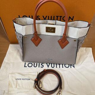 LOUIS VUITTON - ☆超美品☆ 【ルイヴィトン】グレインカーフレザー オンマイサイド トートバッグ