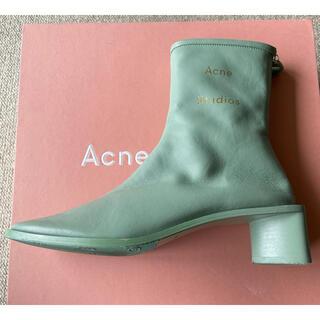 ACNE - ACNE STUDIOS アクネストゥディオズ レザーアンクルブーツ