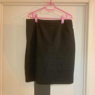 はるやま タイトスカート スカートのみ スーツスカート 4L 黒 ブラック