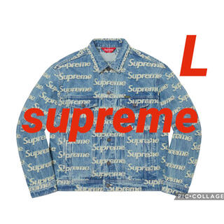 Supreme - シュプリーム Frayed Logos Denim Trucker Jacket