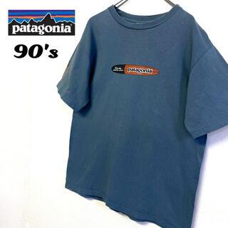 patagonia - お値下げ不可 90's patagonia サーフボード Tシャツ