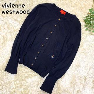 Vivienne Westwood - ヴィヴィアンウエストウッド カーディガン(L)長袖 オーヴ ブラック 黒