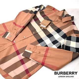 BURBERRY - 新品 2021SS BURBERRY 長袖シャツ