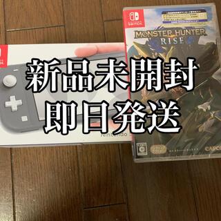 Nintendo Switch - 任天堂スイッチライトとモンスターハンターライズのセット