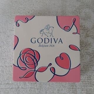 チョコレート(chocolate)のGODIVA ゴディバ 空き缶(小物入れ)