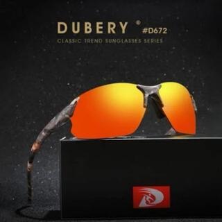 新品 送料込み DUBERY ミラーレンズ カモフラージュ スポーツサングラス