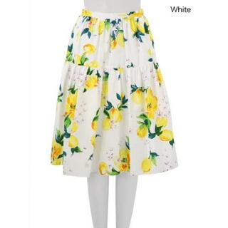 チェスティ(Chesty)のchesty レモンスカート(ひざ丈スカート)