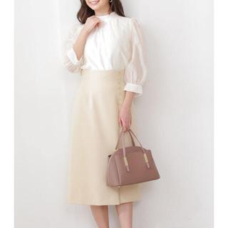 PROPORTION BODY DRESSING - PROPORTION BODY DRESSING サイド釦タイトスカート 今季