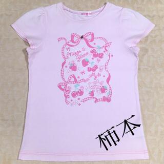mezzo piano - mezzo✿piano      半袖Tシャツ  size 140cm
