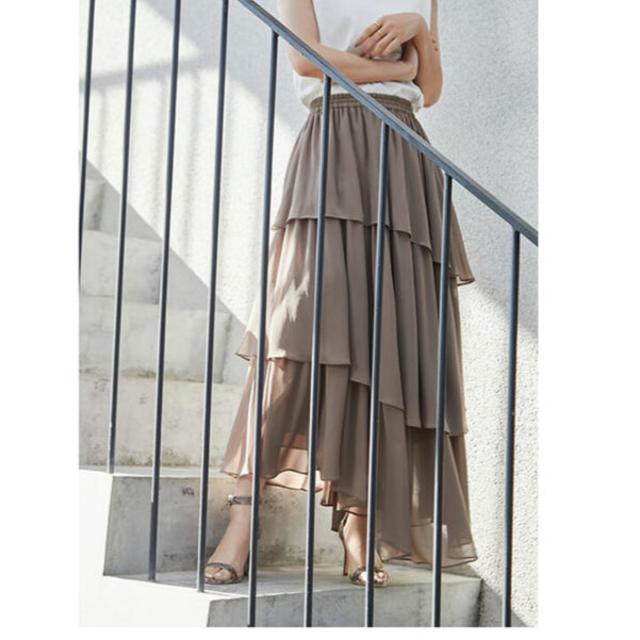 (新品未使用)anuans スカート レディースのスカート(ロングスカート)の商品写真