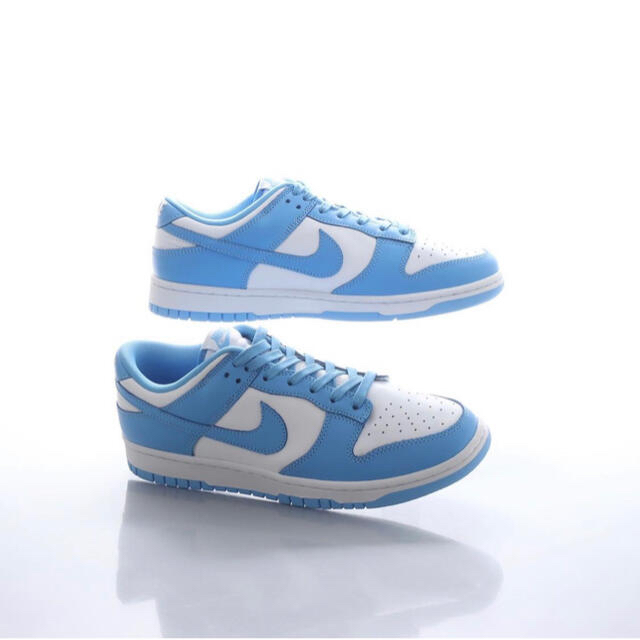 NIKE(ナイキ)のNIKE DUNK LOW RETRO UNIVERSITY BLUE UNC メンズの靴/シューズ(スニーカー)の商品写真