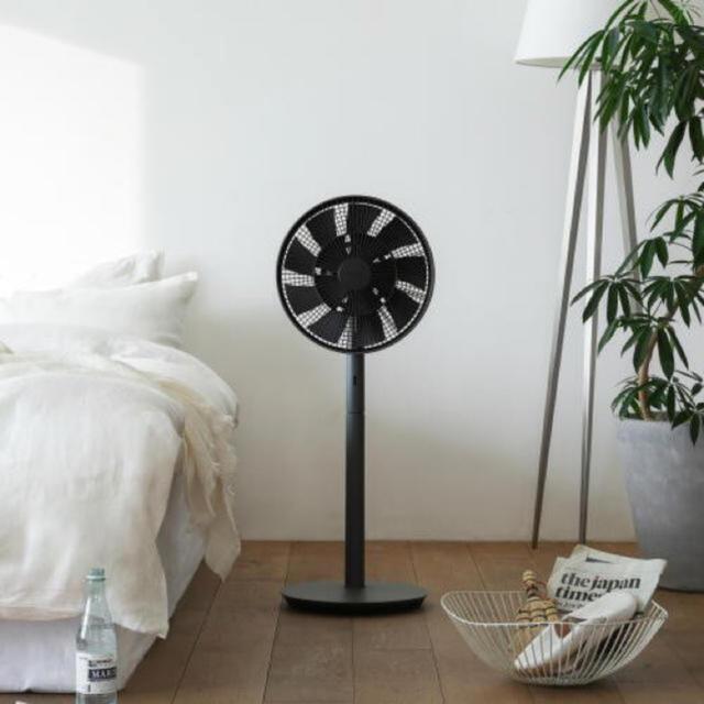 BALMUDA(バルミューダ)の新品同様 バルミューダ  グリーンファン ブラック BALMUDA スマホ/家電/カメラの冷暖房/空調(扇風機)の商品写真