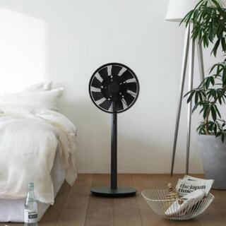 バルミューダ(BALMUDA)の新品同様 バルミューダ  グリーンファン ブラック BALMUDA(扇風機)